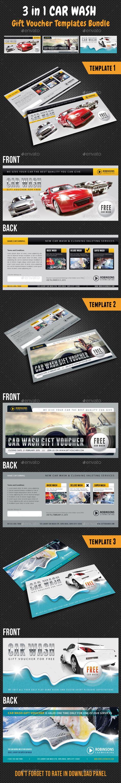 Bundle Voucher Indomaret 1 5jt 3 in 1 car wash gift voucher bundle by rapidgraf graphicriver