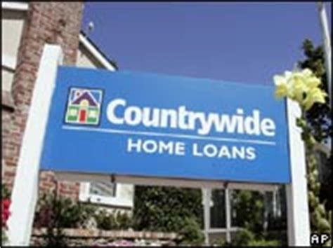 news business bank of america buys countrywide