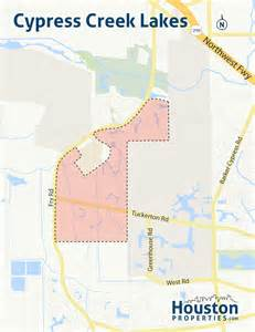 cypress map guide to cypress creek lakes houston homes for sale