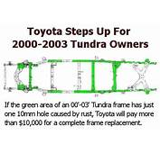 Toyota Extends Recall Warranty For Rusty Tundra Frames
