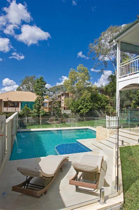 malibu pools a touch of sand sandstone brisbane backyard completehome