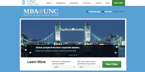 Unc Mba by 103 Top Websites On Skillcrush