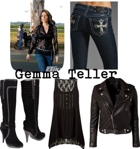 Gemma Teller Wardrobe by Gemma Teller Costume Sons Of Anarchy It