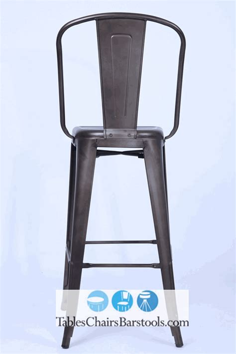 Oversized Bar Stools With Arms by Oversized Viktor Steel Bar Stool With Rust Finish Bar