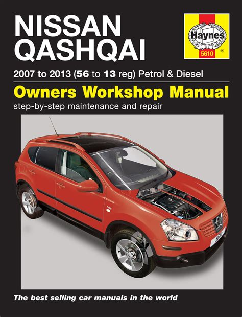 nissan qashqai petrol diesel 07 13 haynes repair manual haynes publishing