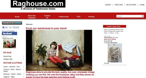 vintage clothing site brand clothing