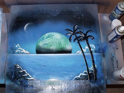 spray painting palms spray painting by jaylatour on deviantart