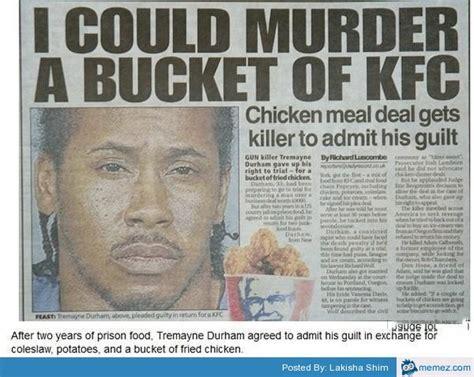 Kfc Bucket Meme - murder a bucket of kfc memes com