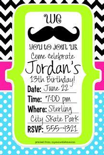 mustache birthday card template 84 best s 9th birthday i quot mustache quot you a