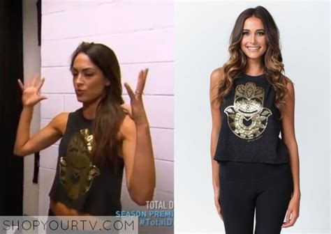 brie bella x factor wwe total divas season 4 episode 1 brie s crop top shop