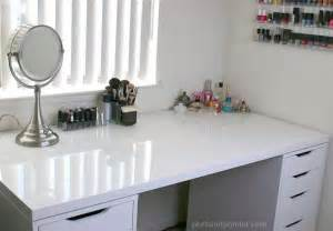 Vanity Mirror Dressing Table 7 Ikea Inspired Diy Makeup Storage Ideas