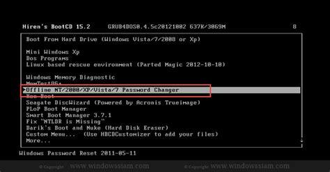 windows 10 reset password hirens hirens boot cd 8 5