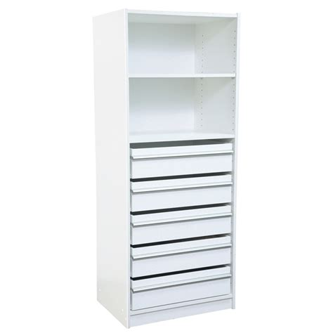 multistore wardrobe insert with 1 adjustable shelf and 5