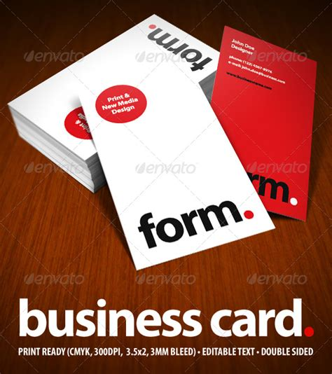 psd business card template with bleed modern business card graphicriver