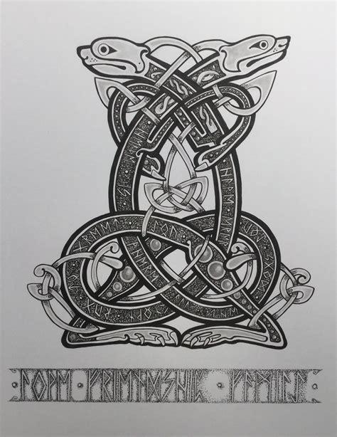 7 beautiful norse tribal tattoos pin by максим вакуленко on викинги tattoos viking