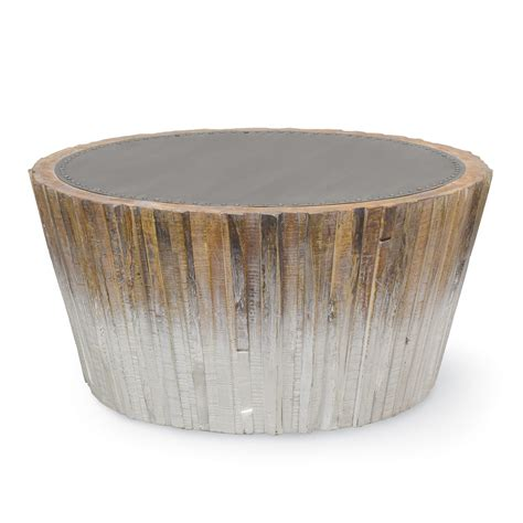 palecek wood coffee table palecek