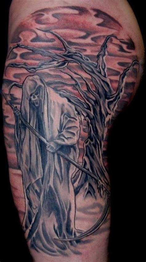 cemetery tattoo designs 25 amazing graveyard and cemetery tattoos