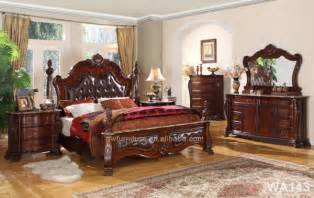 top quality wood antique bedroom furniture set royal
