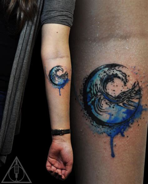 watercolor tattoo roma 60 of the best wave tattoos you ll see tattooblend