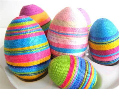 aprender a decorar huevos de pascua 21 ideas para hacer manualidades de pascua