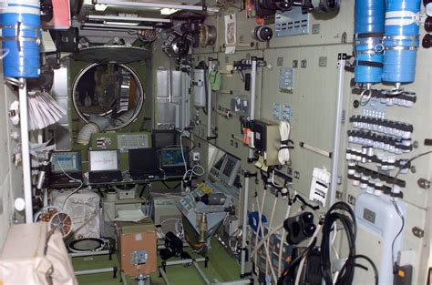 Iss Interior by File Forward View Of Interior Of Zvezda Jpg Wikimedia