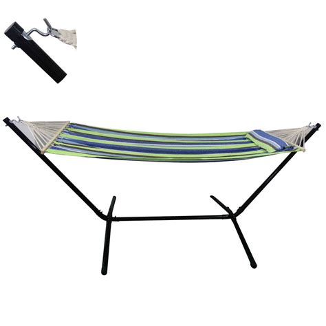 Heavy Duty Hammock New Heavy Duty Quilted Hammock With 9ft Steel Stand