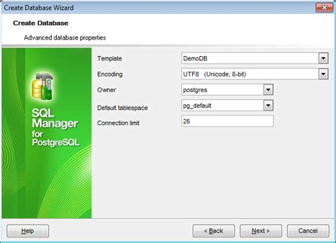 postgresql create database template ems sql manager postgresql tools ems sql manager for