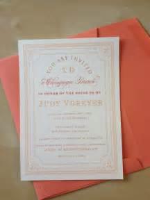 stella invites chagne brunch bridal shower invite