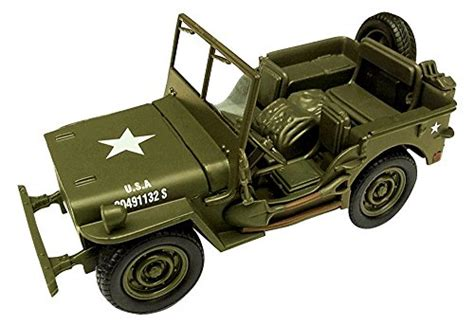 Jeep Willys Wwii Diecast Model Scale 1 32 Age 5 1 new jeep willys 1 32 scale die cast model car ww ii