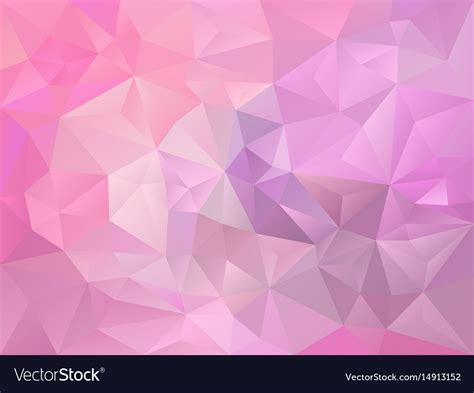 baby color baby pink and violet color polygon background vector image