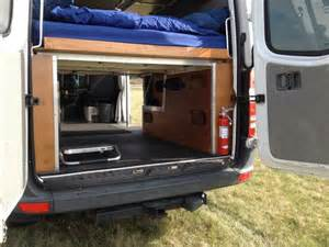 Diy camper van bed conversions