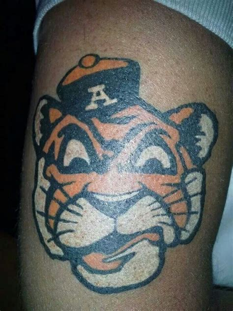 auburn tattoo 30 best alabama tattoos images on alabama