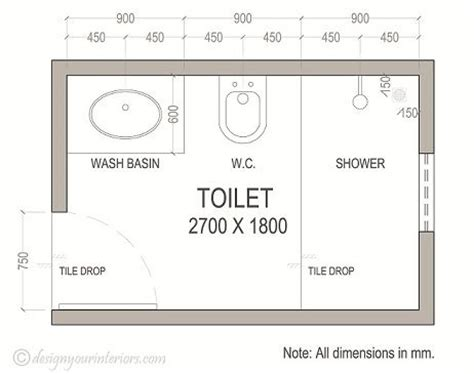 bathroom blueprints plans layout bathroom plans
