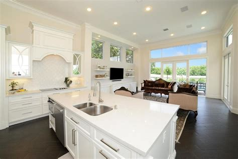 White Kitchen Cabinets With White Quartz Countertops 45 Luxurious Kitchens With White Cabinets Ultimate Guide