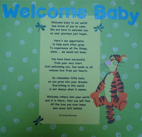 Welcome To The World Baby A Novel Random House Large Print By Flagg Fannie Random Welcome Baby Poem N Book By Whitebunnierabbit On Deviantart