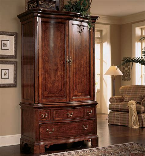 cherry wood armoire bedroom cherry grove armoire traditional dressers by modern