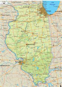 Illinois Maps by Illinois Sights