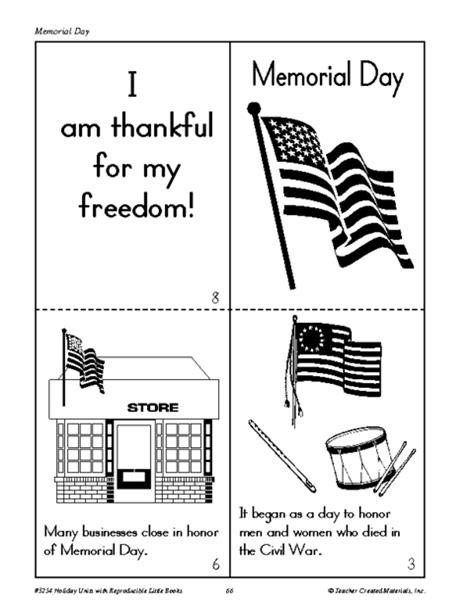 memorial day printable activity sheets make a memorial day book education world