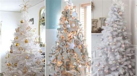 como decorar arboles de navidad blancos c 243 mo decorar 225 rboles de navidad blancos 5 pasos