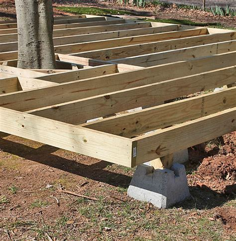 How To Build A Deck by How To Build A Fabulous Diy Floating Deck The Garden Glove
