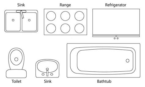 floor plan bathroom symbols how to read a floor plan time to build