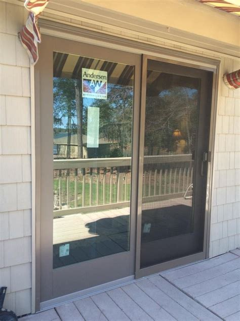 Andersen 400 Series Frenchwood Gliding Patio Door Andersen Patio Doors