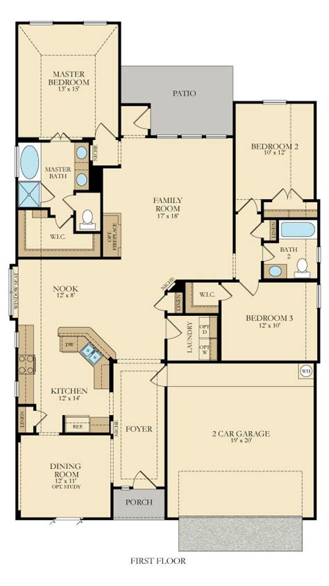 onyx 3723 new home plan in cove brookstone by lennar