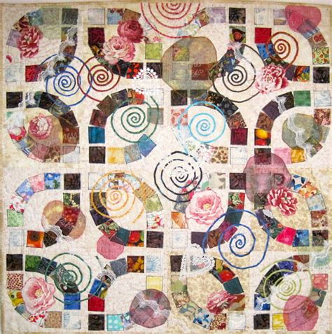 Wedding Quilt by Quilt Inspiration Wedding Rings Part 4 Collaged