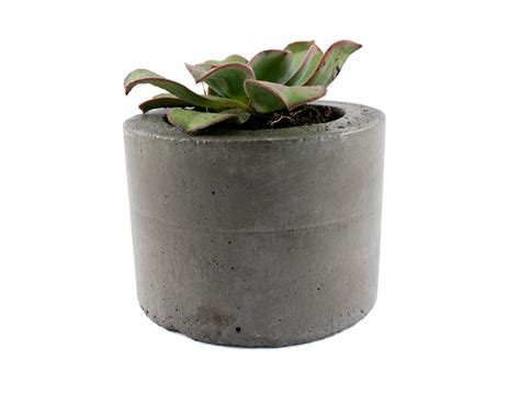 Felt Planters by Charcoal Concrete Planter Pot Felt