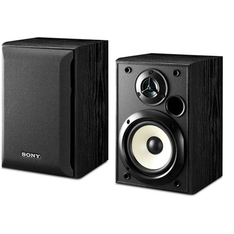 sony ss b1000 5 25 quot two way bookshelf speakers pair