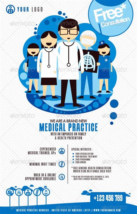 health flyer templates free 34 best images about health and hospital on fonts center and