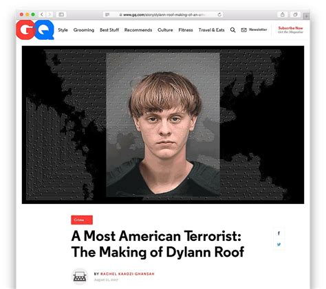 Gq 61509 White Sale Special Event gq profile of dylann roof quot a most american terrorist quot awarded pulitzer prize