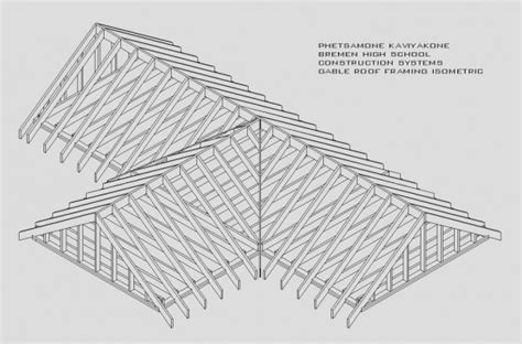 Cross Gable Roof Design Simplicity Gable Roof Being A Choice Gable Roof Framing