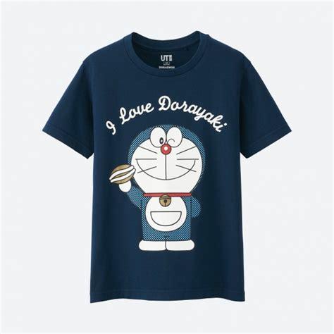 T Shirt Doraemon 5 doraemon sleeve graphic t shirt uniqlo